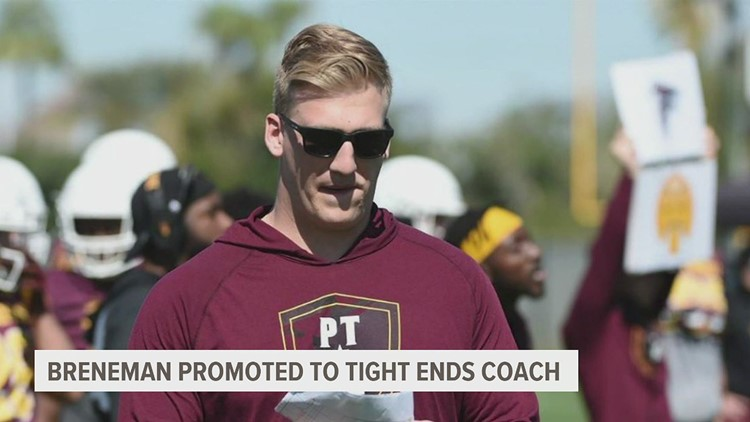 Adam Breneman is new Arizona State Tight Ends Coach