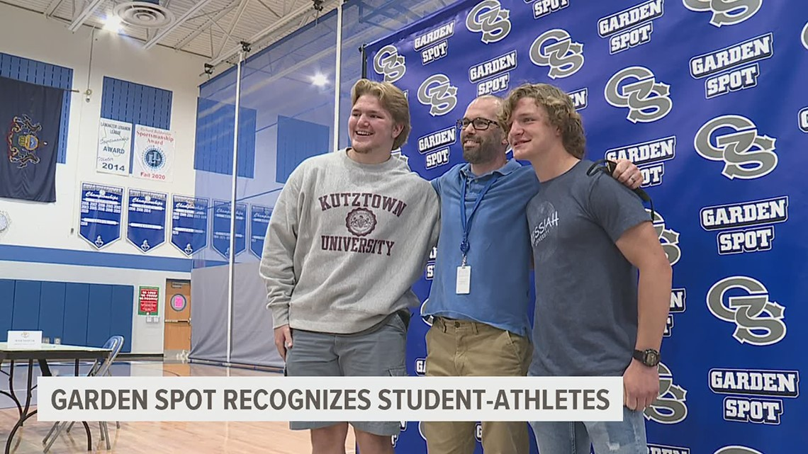 Garden Spot ceremony recognizes student-athletes playing in college