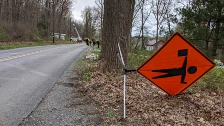 Wind storm delivers widespread damage in parts of Central PA