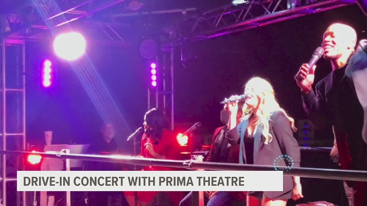 Prima Theatre drive-in concert and parade experience starts this weekend