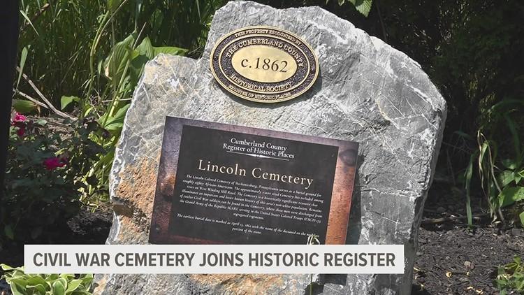 Civil War cemetery joins historic register