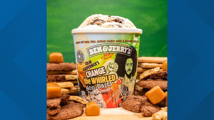 Ben & Jerry's introduces 'Change the Whirled,' a vegan ice cream, in honor of activist and ex-quarterback Colin Kaepernick