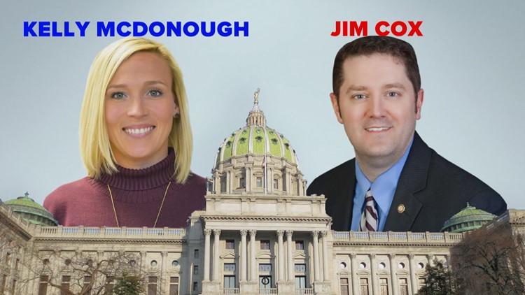 PA House District 129: Jim Cox (R) vs. Kelly McDonough (D)