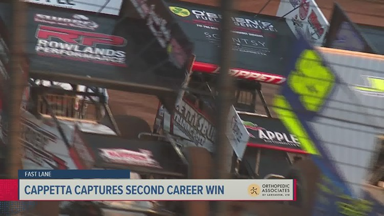 Cappetta reflects on second career victory; Trout gets emotional win | Fast Lane