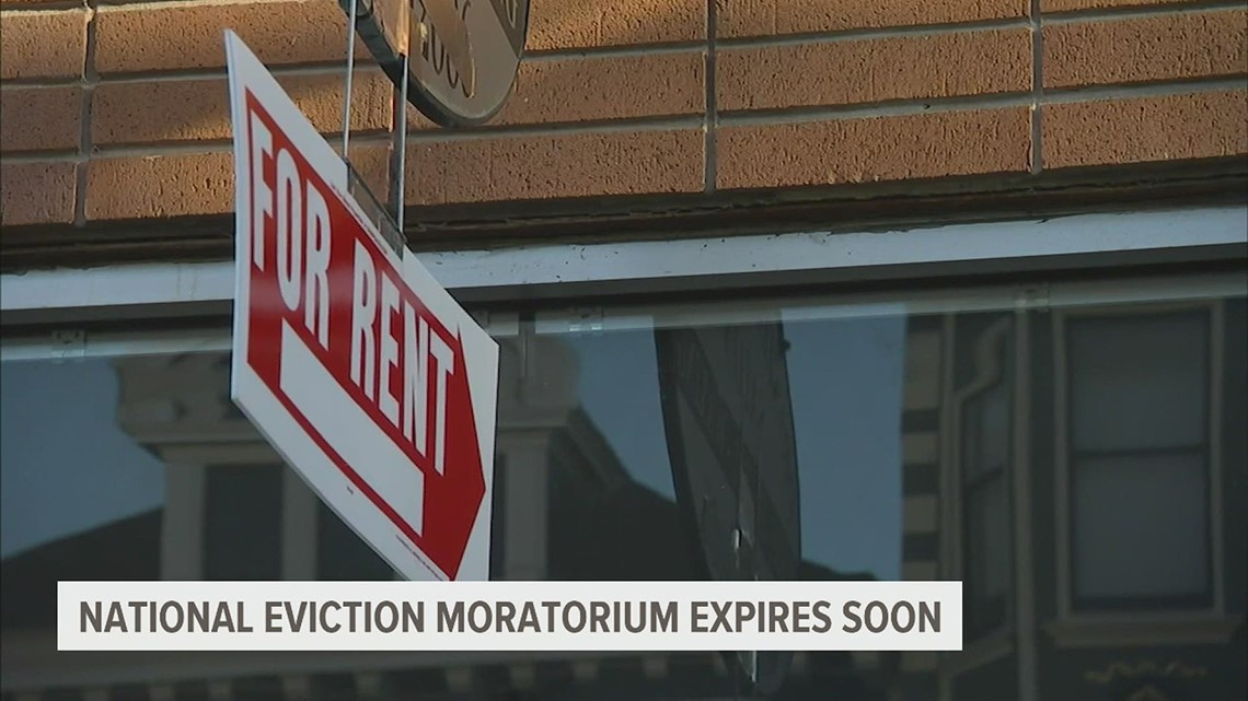 National eviction moratorium set to expire at the end of the week