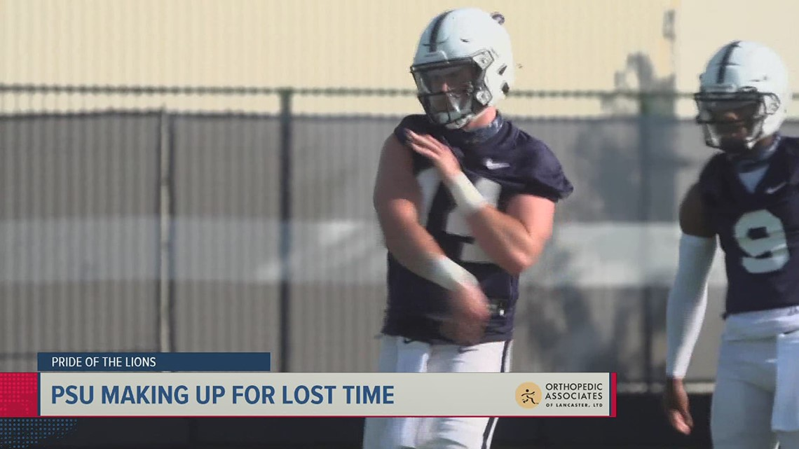 Penn State enters final week of spring ball | Pride of the Lions