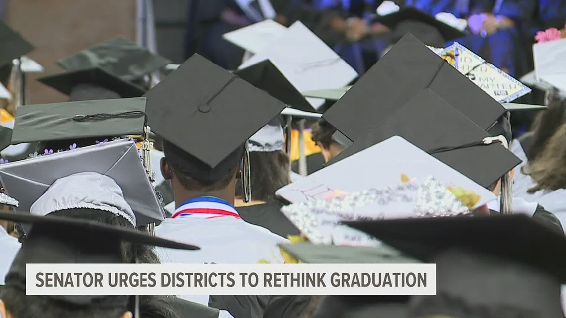 Lawmaker urges school districts to rethink graduation and Gov. Wolf to rethink May 31 date