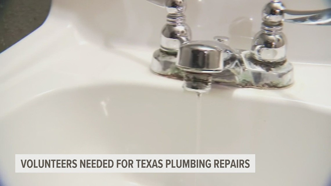 Volunteers from Central Pa. requested for Texas plumbing repairs