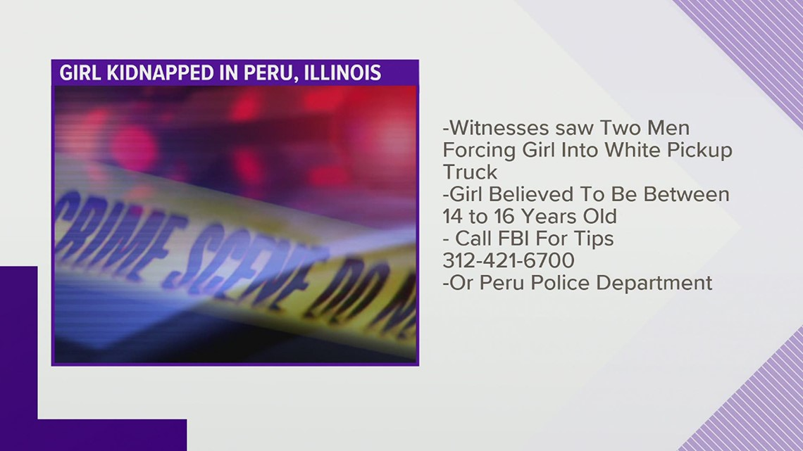 Police investigating apparent kidnapping of Illinois teen early Monday morning