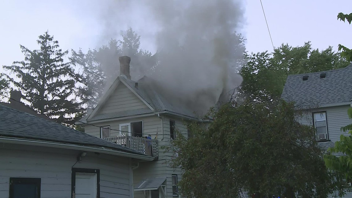 Families displaced, one injured after house fire in Moline