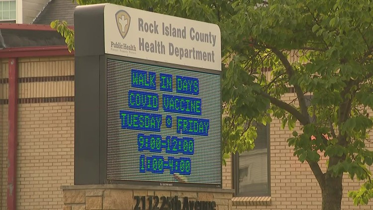 Rock Island County health department employees suspended for refusing COVID-19 vaccine