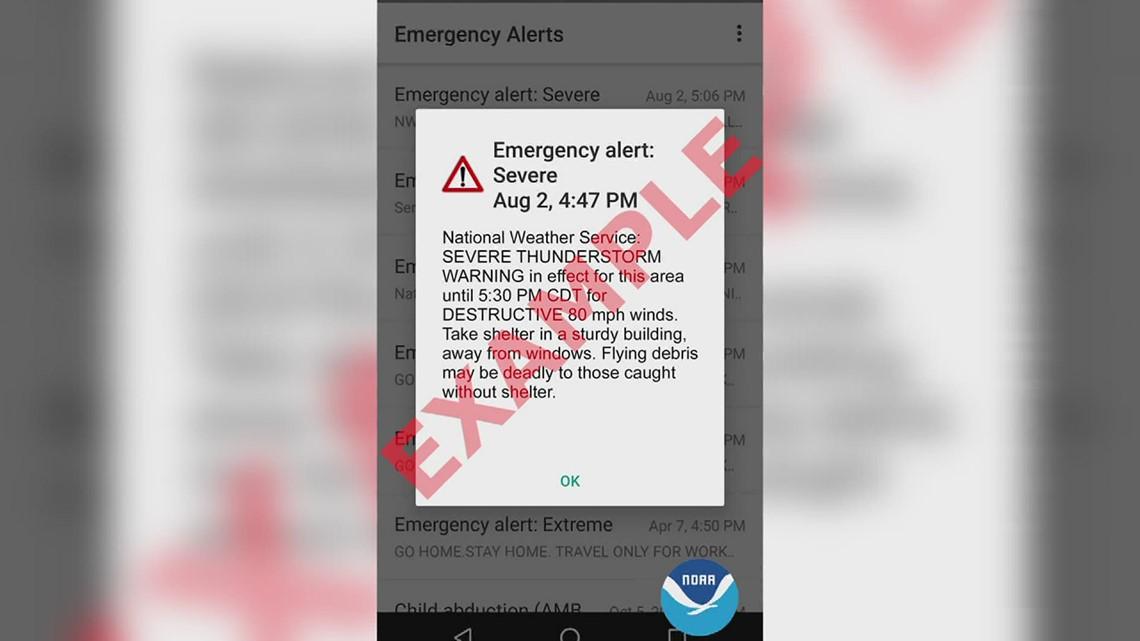 National Weather Service new destructive, severe thunderstorm alert explained