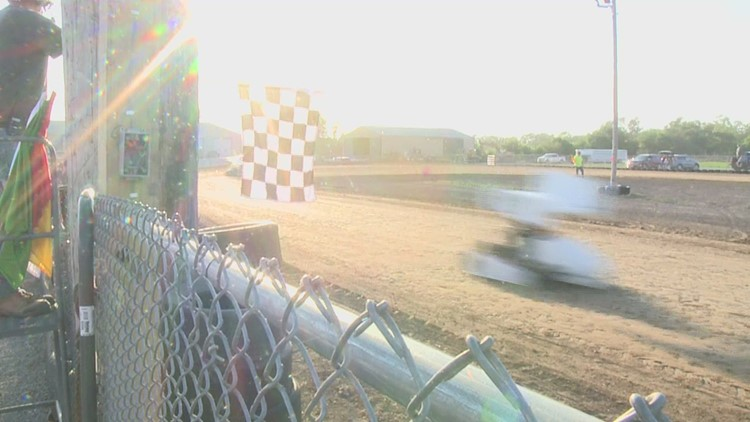 The race is on in Mercer County, where Viola's new go kart track has kicked off their summer season