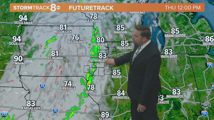 Dry and comfortable Wednesday followed by surging heat and humidity this weekend