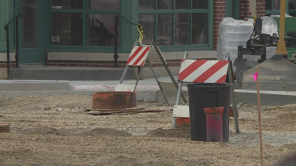 Construction in Morrison continues on Main street