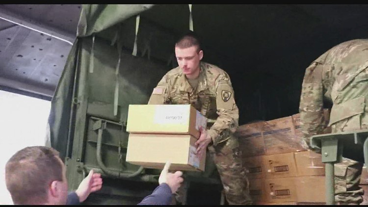 Iowa Sends Off National Guard
