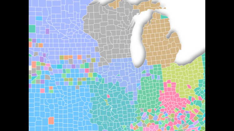 Interactive Map: Which NFL team does your county search for most on Google?