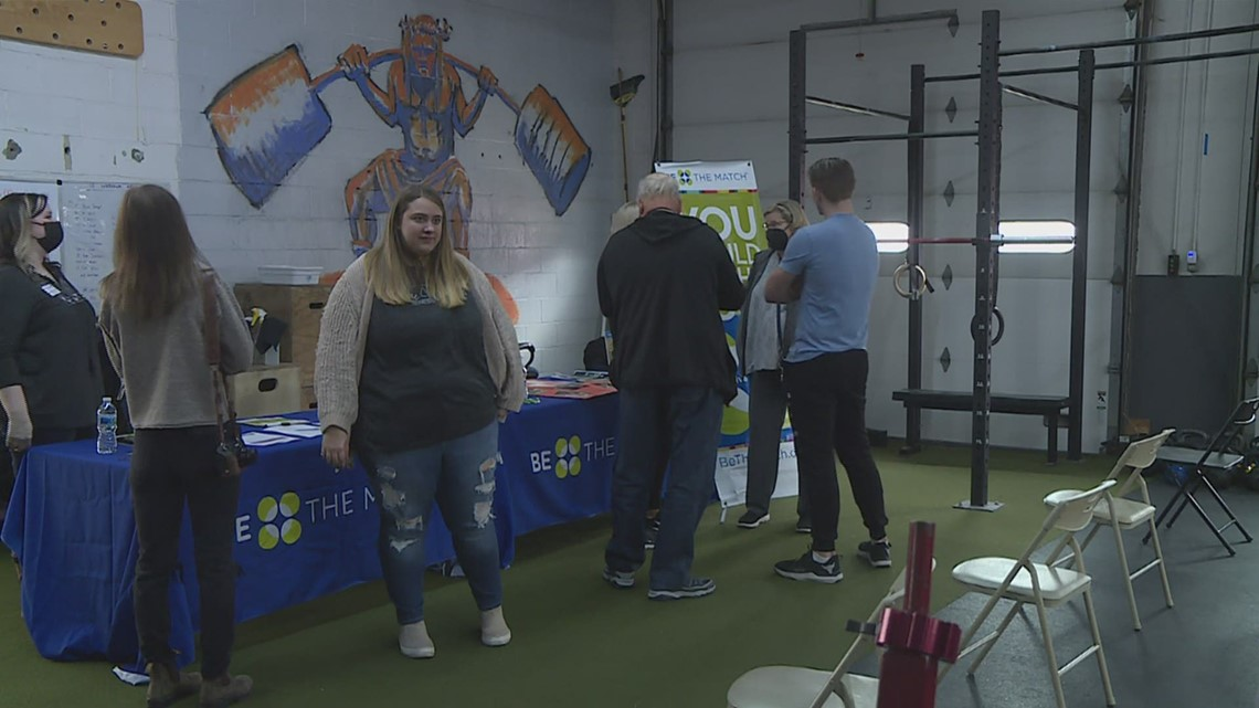 Fitness Center Holds Bone Marrow Registry