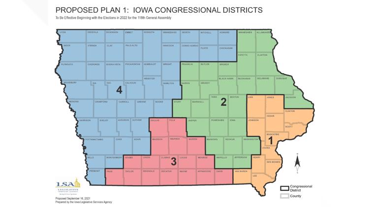 Iowans: Here's how you can voice your opinion on the proposed redistricting maps