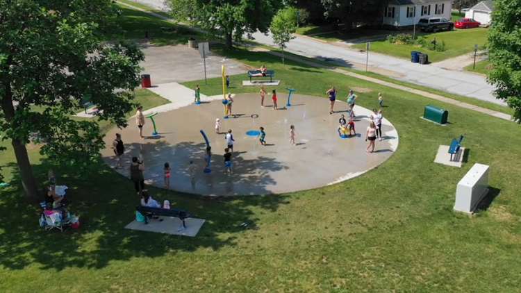 WATCH: A tour of the free splash pads around the Quad Cities metro