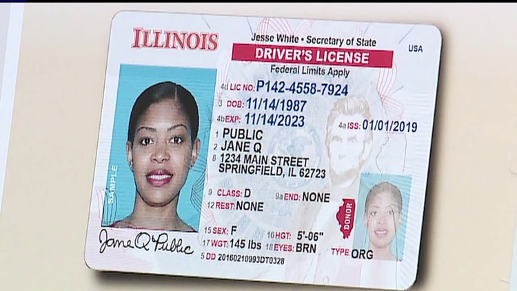 Illinois driver's license, ID, and vehicle registration expiration extended  | wqad.com