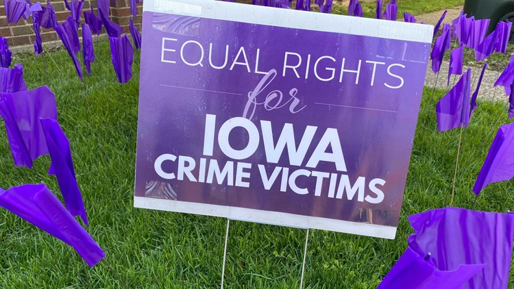 Advocates of crime victims push for equal rights across Iowa