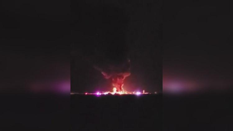 Explosion rocks rural Carroll County, Iowa
