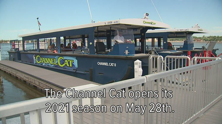 Watch: The Channel Cat water taxi sets sail May 28 for its 2021 season