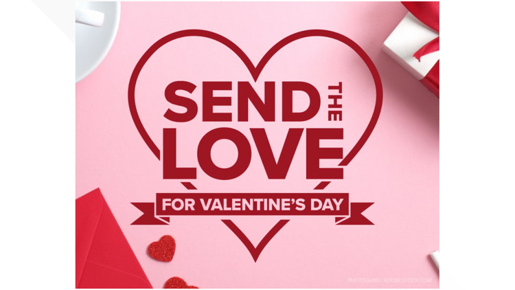 Your #SendTheLove submissions for Valentine's Day