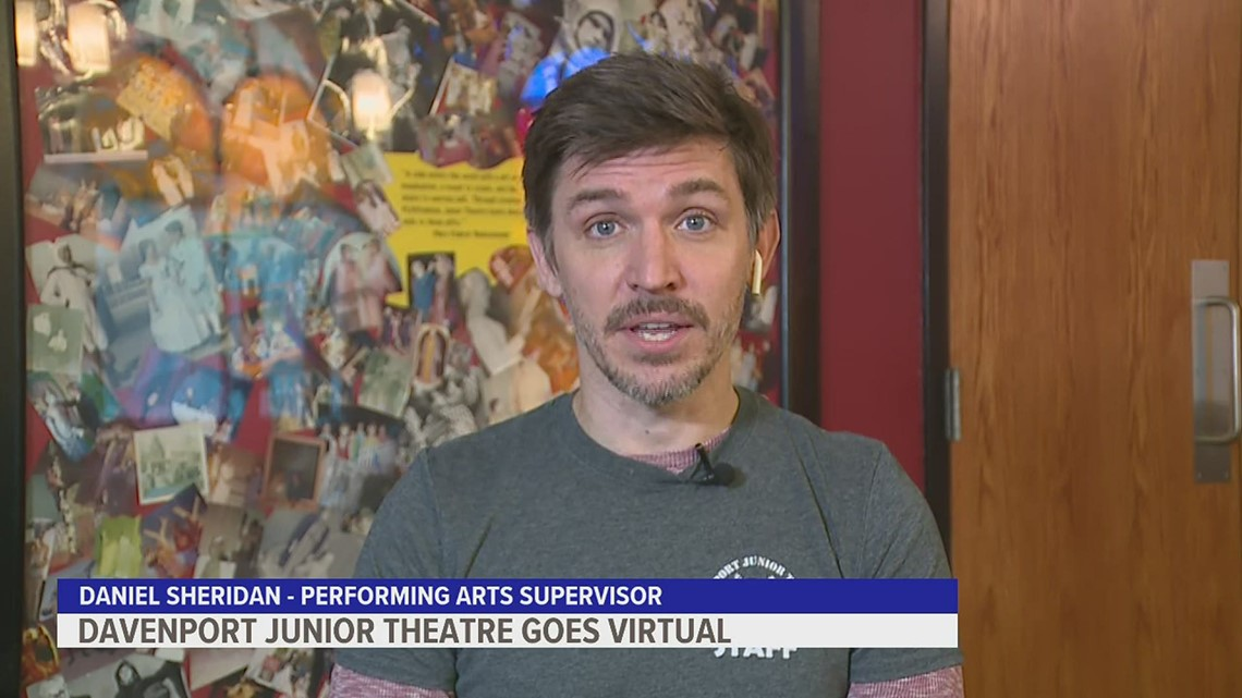 Davenport Junior Theater reaches kids cross-country amid pandemic