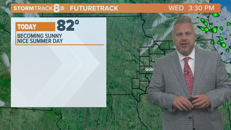 Eric's Accurate Forecast for Wednesday June 23, 2021