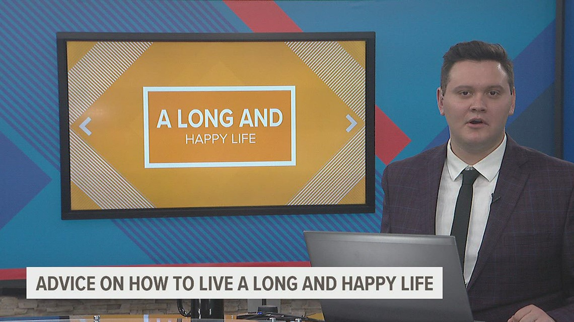 Monmouth woman has this advice on how to live a long and happy life