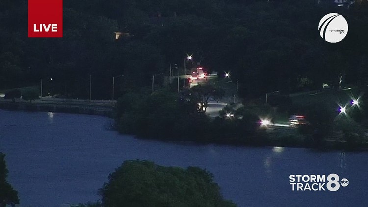 Early morning motorcycle crash causes River Drive in Davenport to close