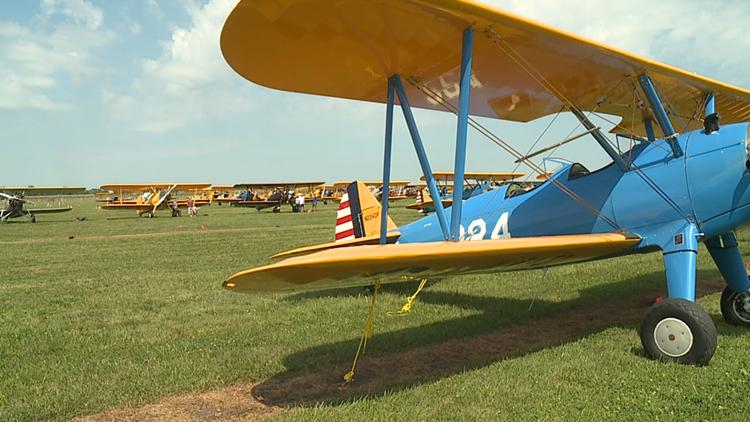 Stearman Fly-in happening this week in Galesburg