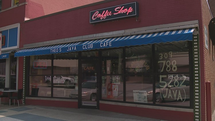 Theo's Java Club up for sale after 27 years in downtown Rock Island