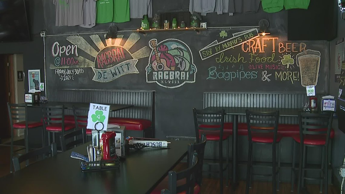 Dewitt businesses are preparing to welcome 20,000 people for RAGBRAI