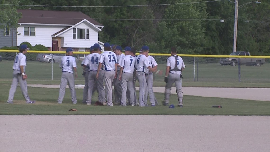 Sterling Newman Baseball win Sectional Title