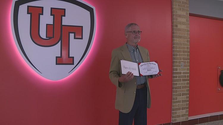 Local Vietnam veteran receives high school diploma six decades later