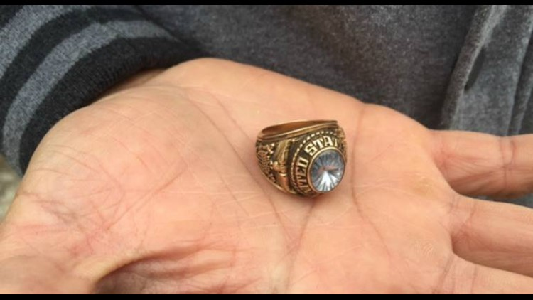 Navy ring