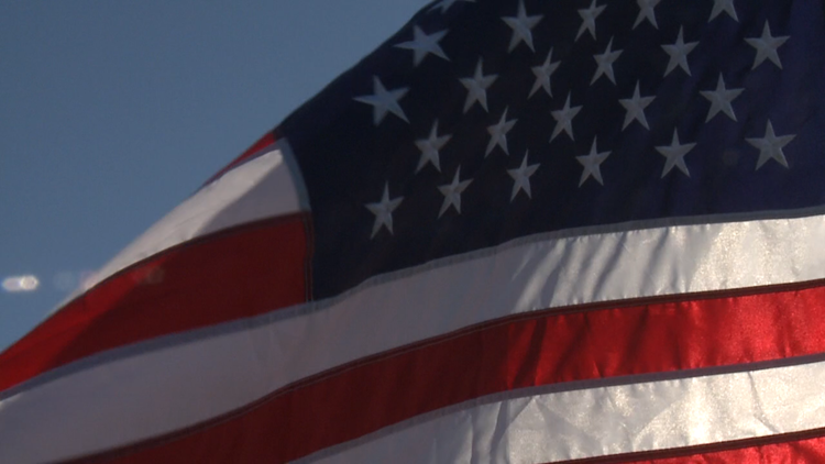 Where you can see 1,000 flags flying in the Quad Cities for Flag Day