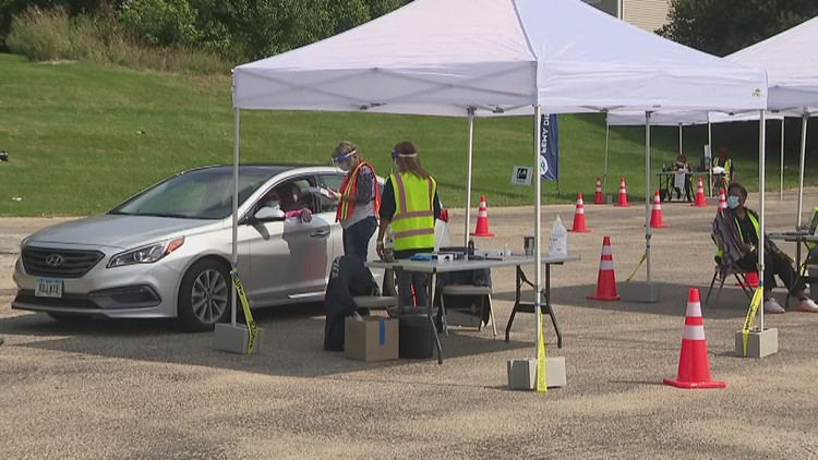 FEMA sets up drive-up site in Bettendorf to assist with lasting storm damage