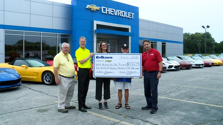 Vettes on the River receives funds from the Three Degree Guarantee