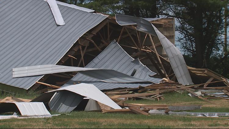 Tornado touches down near Bernard, Iowa with 100 mph winds