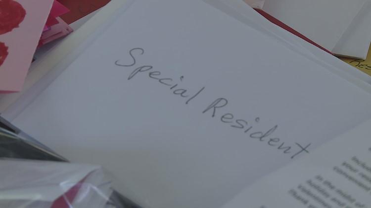 Nursing Home Surprised with Valentines