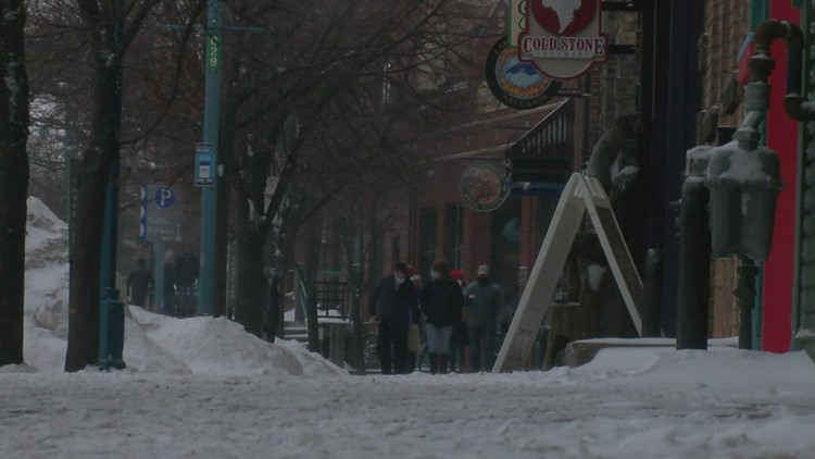 Northern Minnesota hit with high winds, wintry mix