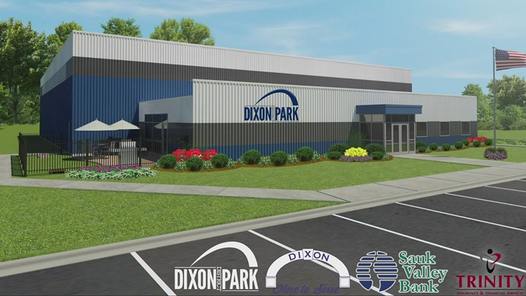Dixon Park District approves sports facility concept; groundbreaking set for October