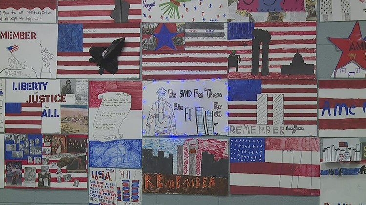 Never forget: Pleasant Valley Junior High teacher helps students learn history of Sept. 11