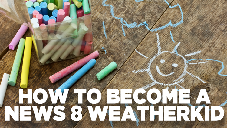 How to become a News 8 Weather Kid