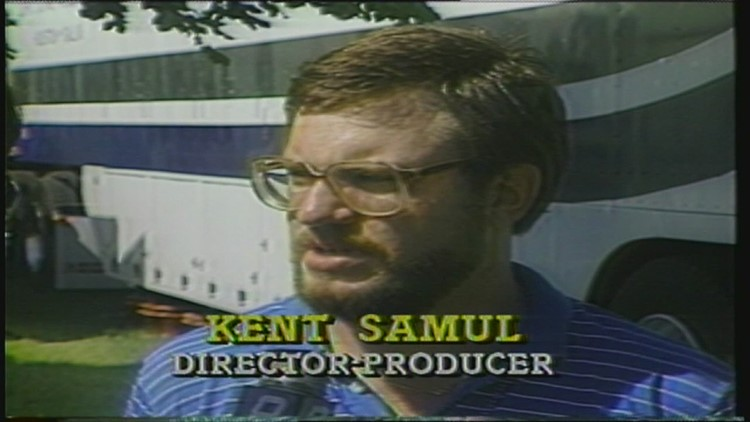First live coverage from the golf tournament (1986)