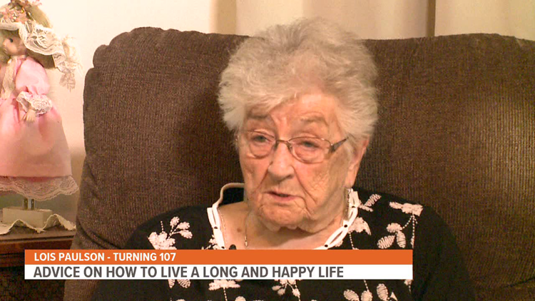 Monmouth woman turning 107 has this advice on living a long, happy life